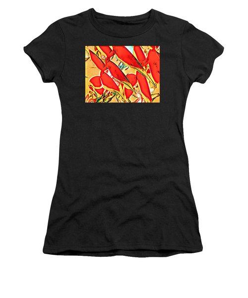 Halyconia Closeup In Orange Women's T-Shirt