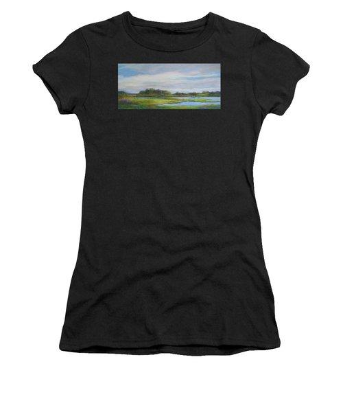 Hammonassett Sky Women's T-Shirt (Athletic Fit)