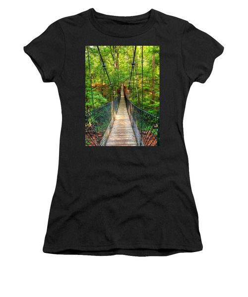 Hanging Bridge Women's T-Shirt (Athletic Fit)