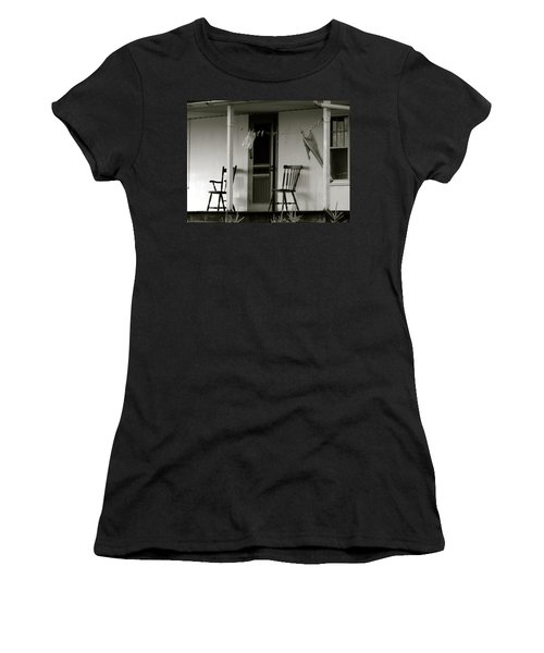 Hanging Out On The Porch Women's T-Shirt (Athletic Fit)
