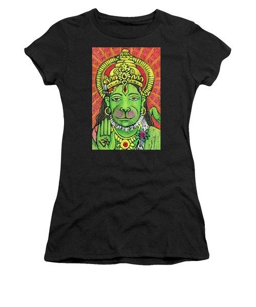 Hanuman Portrait  Women's T-Shirt (Athletic Fit)