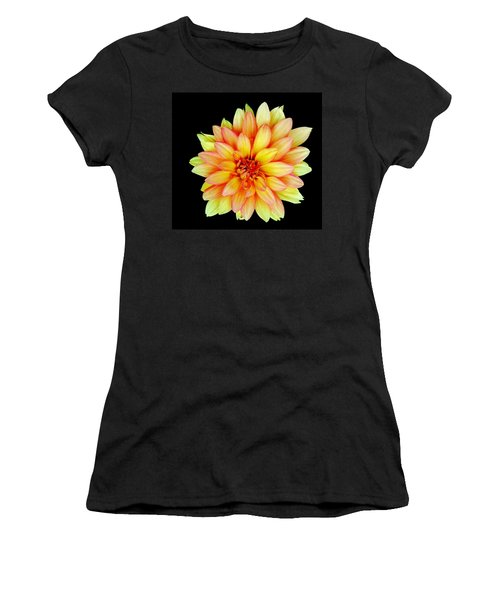 Happy Dahlia Women's T-Shirt (Athletic Fit)
