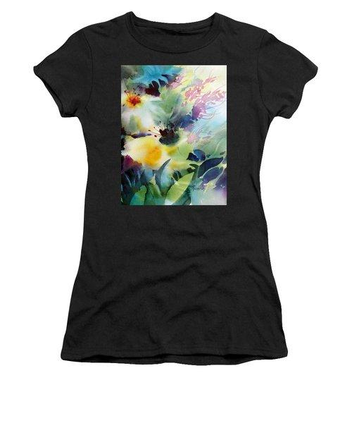 Happy Dance Women's T-Shirt (Athletic Fit)