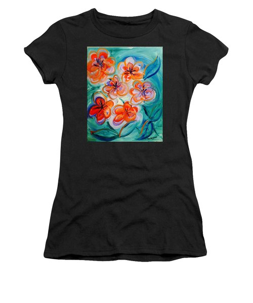 Happy Day Bright  Women's T-Shirt (Athletic Fit)