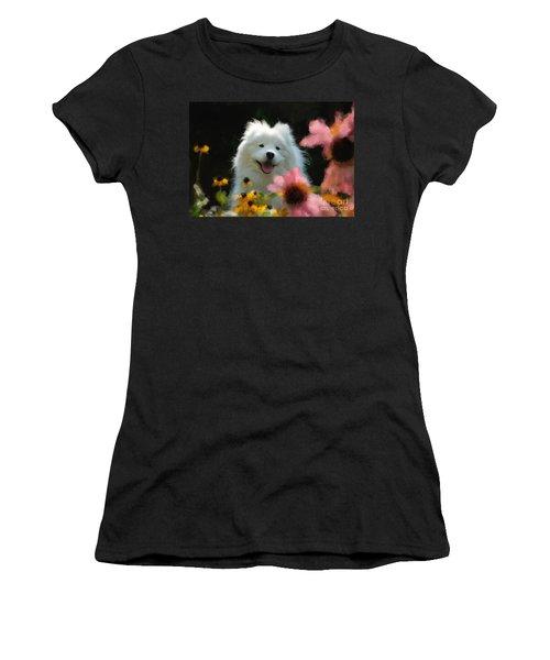 Happy Gal In The Garden Women's T-Shirt
