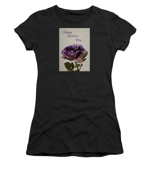 Happy Mothers Day No. 2 Women's T-Shirt (Junior Cut) by Sherry Hallemeier