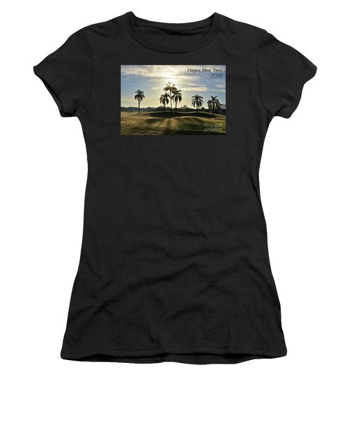 Happy New Year 2018 Women's T-Shirt (Athletic Fit)