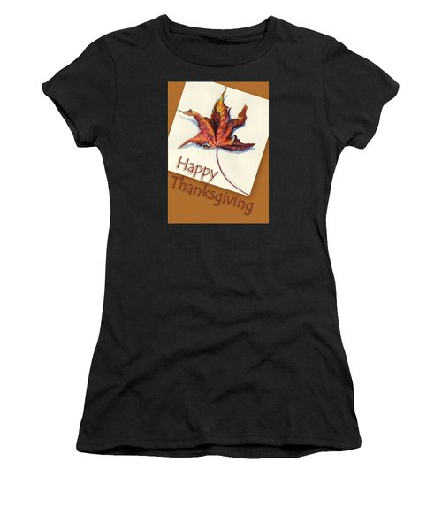 Happy Thansgiving Women's T-Shirt