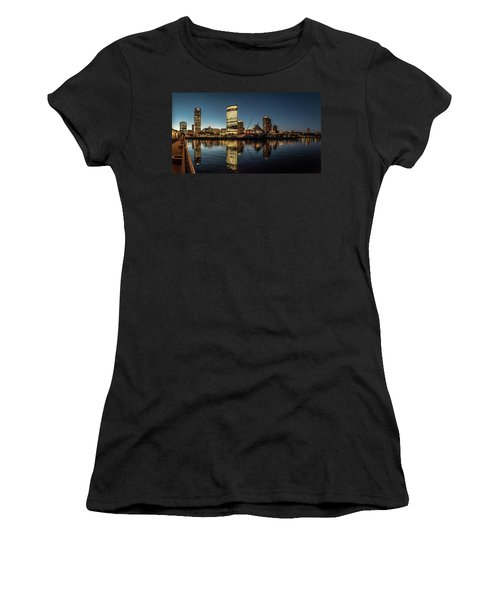 Harbor House View Women's T-Shirt (Athletic Fit)