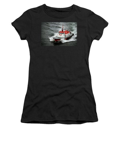 Harbor Master Pilot Women's T-Shirt (Athletic Fit)