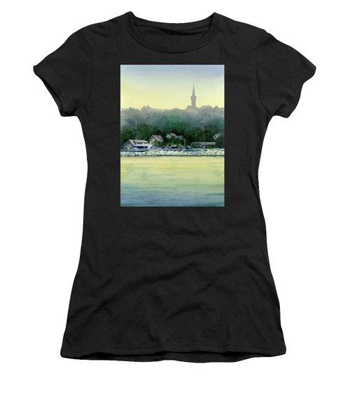 Harbor Master, Port Washington Women's T-Shirt (Athletic Fit)