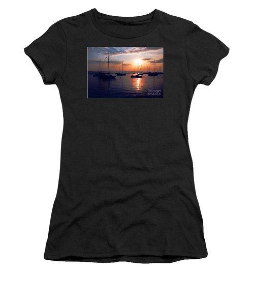 Harbor Sunrise Women's T-Shirt