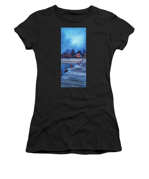 Harbormasters Office Owen Park Women's T-Shirt (Athletic Fit)