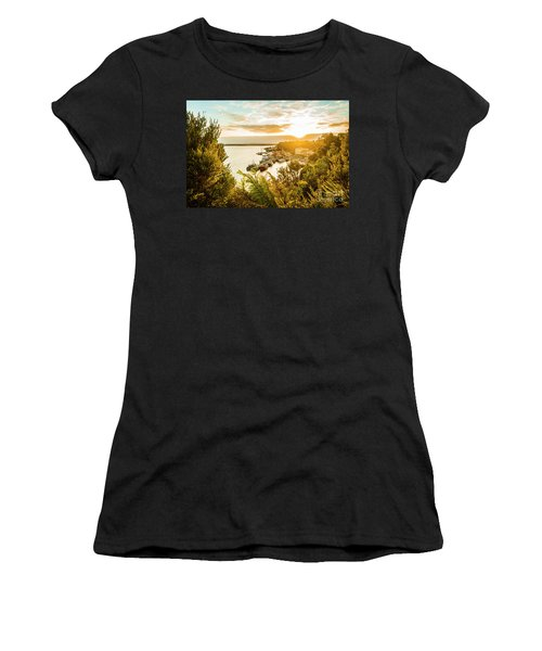 Harbouring A Colourful Vista Women's T-Shirt