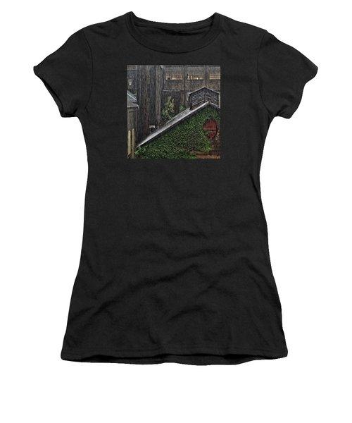 Hard Rain Women's T-Shirt (Athletic Fit)