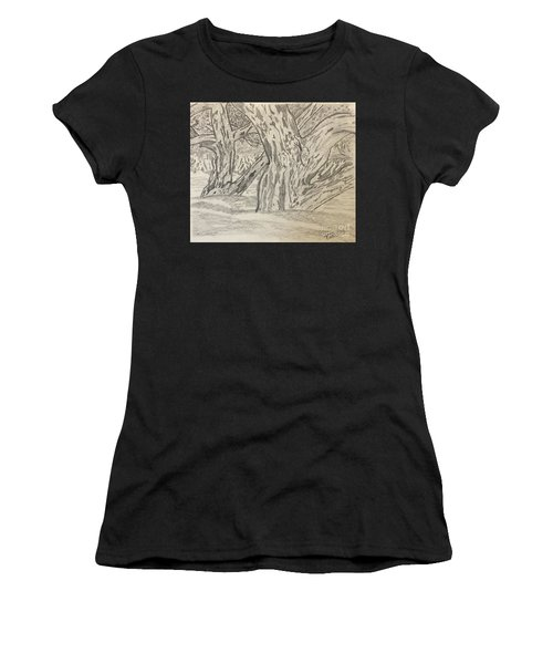 Hardwoods Women's T-Shirt (Athletic Fit)