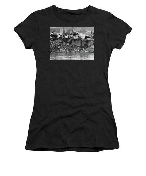 Harlem River Junkyard, 1967 Women's T-Shirt