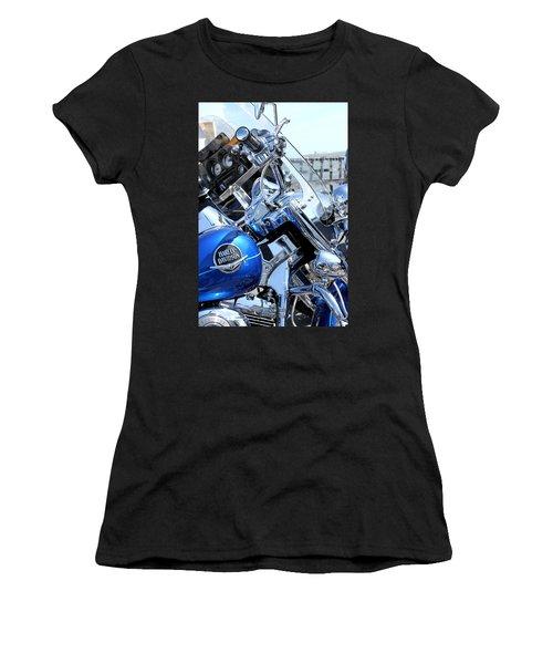 Harley-davidson Women's T-Shirt (Junior Cut) by Valentino Visentini