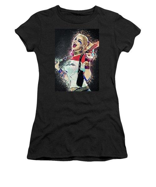 Harley Quinn Women's T-Shirt (Athletic Fit)