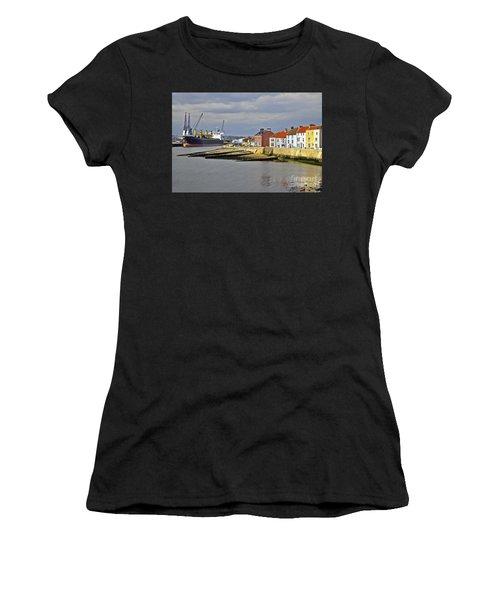 Hartlepool Harbour Evening Women's T-Shirt