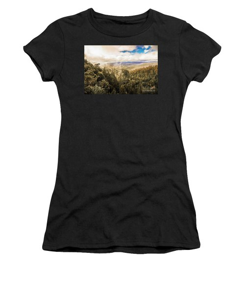 Hartz Mountains To Wellington Range Women's T-Shirt