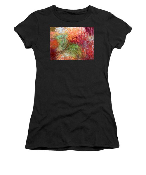 Harvest Abstract Women's T-Shirt (Athletic Fit)