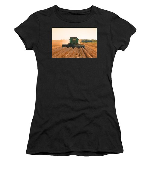Harvesting Soybeans Women's T-Shirt (Athletic Fit)