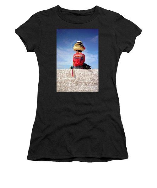 Hats Women's T-Shirt (Athletic Fit)