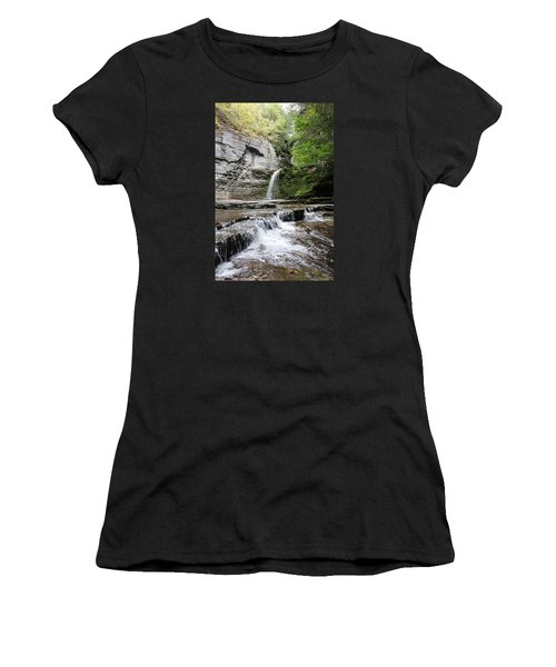 Eagle Cliff Falls II Women's T-Shirt (Athletic Fit)