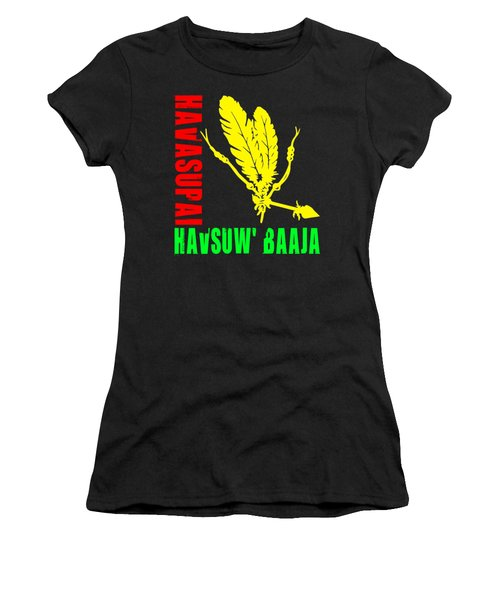 Havasupai Women's T-Shirt (Junior Cut) by Otis Porritt