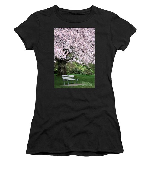 Women's T-Shirt (Junior Cut) featuring the photograph Have A Seat by Victor K
