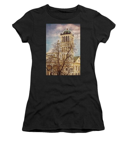 The Church On Oak Street Women's T-Shirt (Athletic Fit)