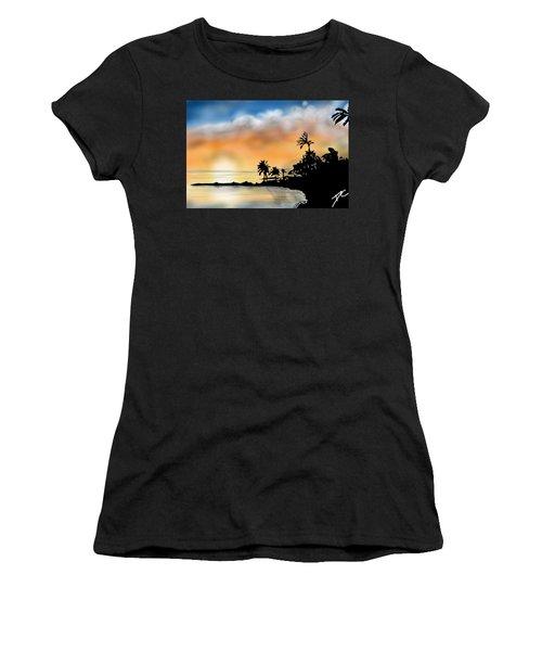 Hawaii Beach Women's T-Shirt