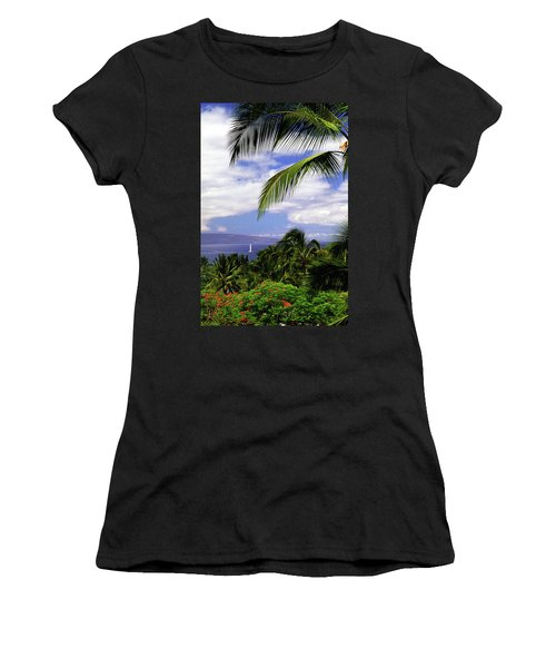 Hawaiian Fantasy Women's T-Shirt (Athletic Fit)