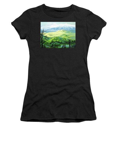 Hawk Meadows Women's T-Shirt (Athletic Fit)