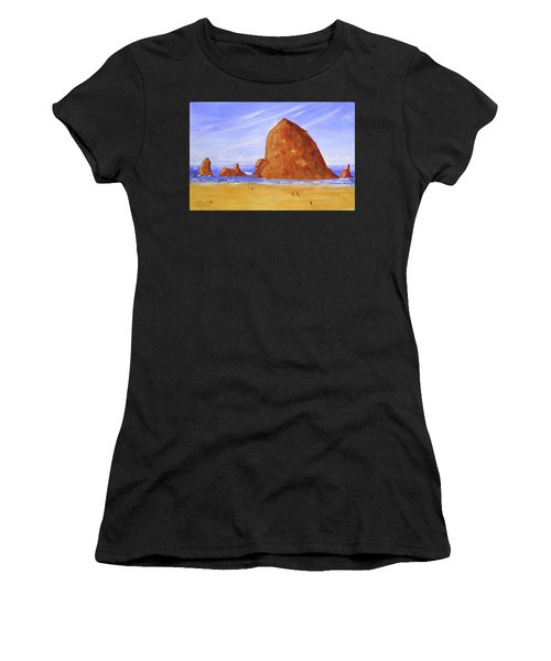 Hay Stack Rock Women's T-Shirt
