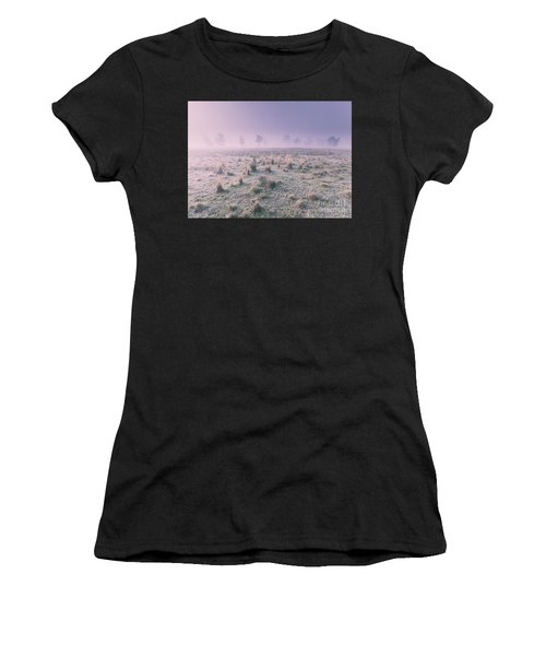 Hazy Australian Winter Scene Women's T-Shirt