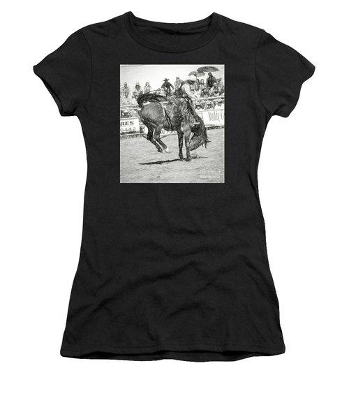 Head Down Women's T-Shirt (Athletic Fit)