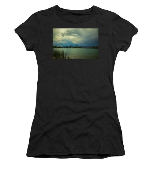Women's T-Shirt (Athletic Fit) featuring the photograph Head In The Clouds by James BO Insogna