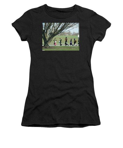 Heading Home From School Women's T-Shirt