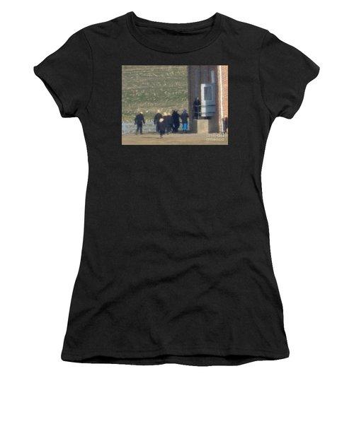 Heading Into The Schoolhouse Women's T-Shirt