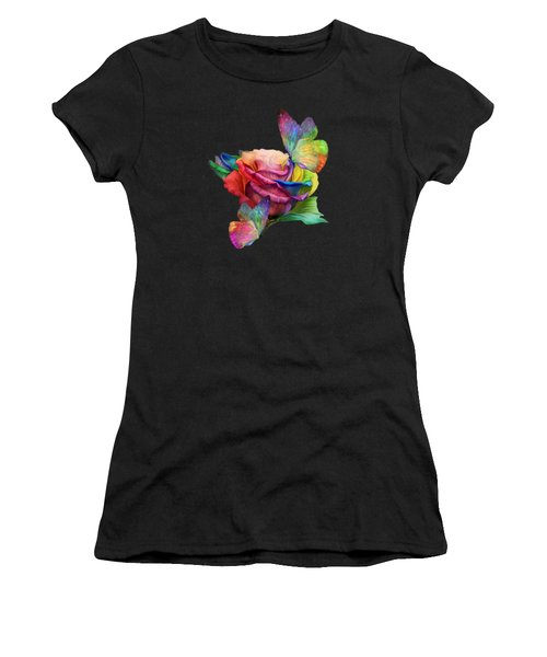 Healing Rose Women's T-Shirt (Athletic Fit)