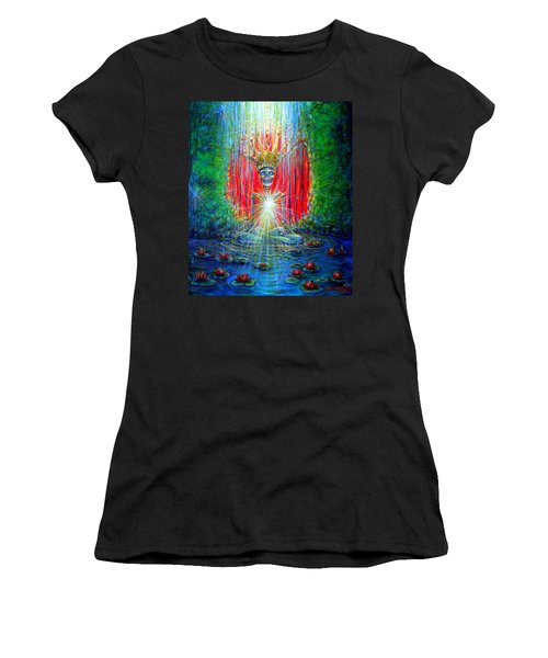 Healing Waters Women's T-Shirt (Athletic Fit)