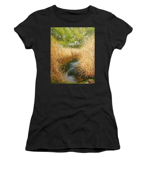 Hear The Croaking Frogs Women's T-Shirt (Athletic Fit)