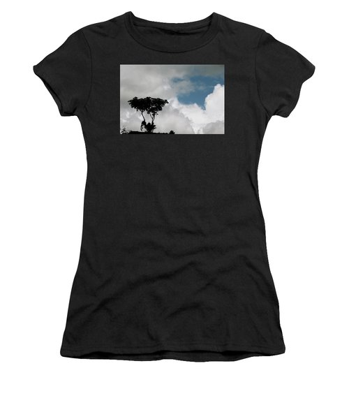 Heart In The Clouds Women's T-Shirt (Athletic Fit)