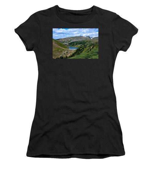 Heart Lake In The Indian Peaks Wilderness Women's T-Shirt