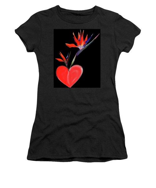 Heart  Of Paradise Women's T-Shirt