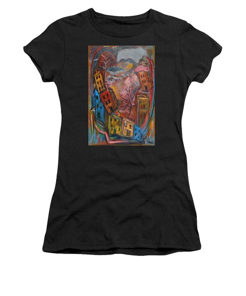 Heart Of The City Women's T-Shirt (Athletic Fit)