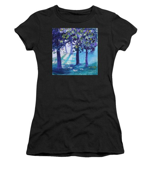 Heart Of The Forest Women's T-Shirt (Athletic Fit)