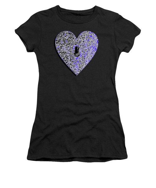 Heart Shaped Lock .png Women's T-Shirt